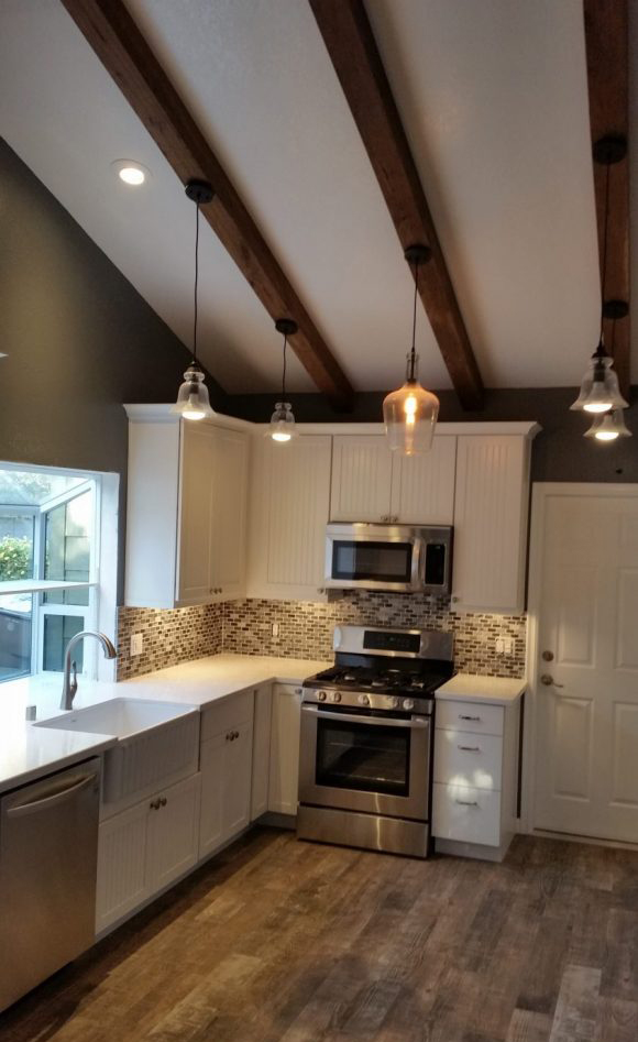 AFTER - Carpinteria Kitchen Remodel - GenHawk Construction