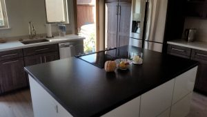 kitchen island and cabinet romodel