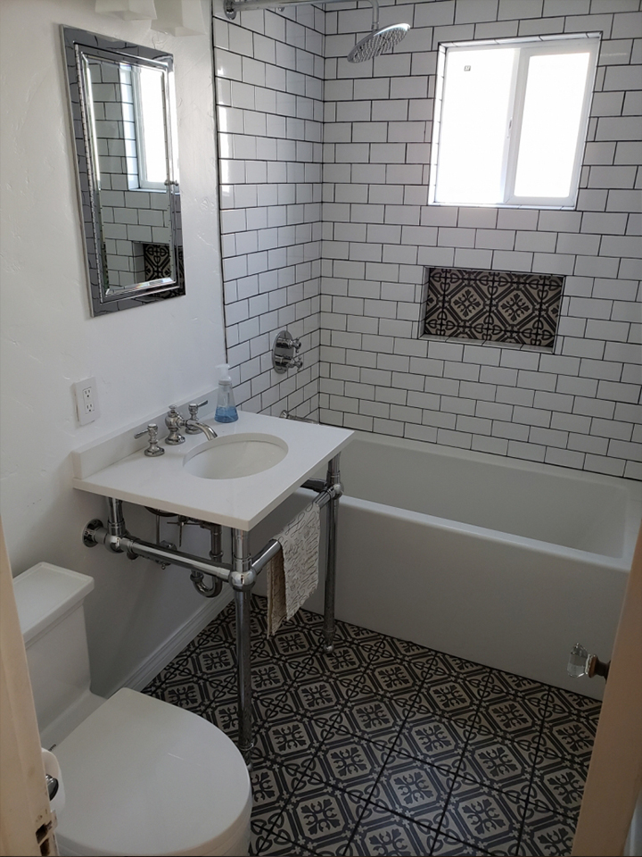 After-Old Town Ventura Bathroom Remodel